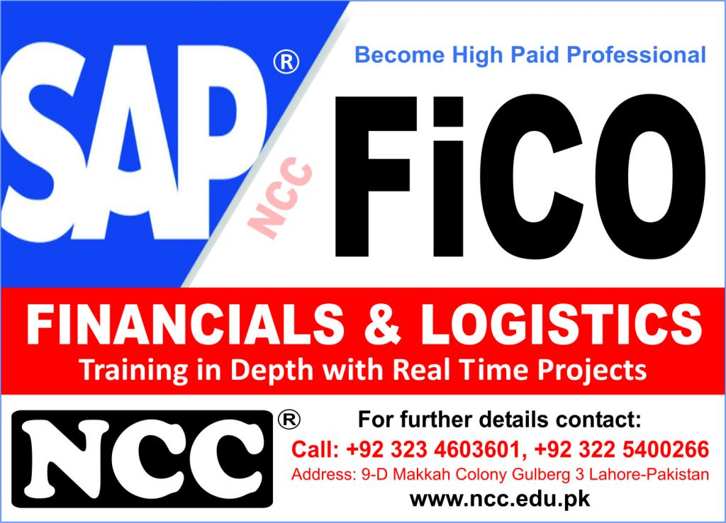 SAP FICO Training in Lahore