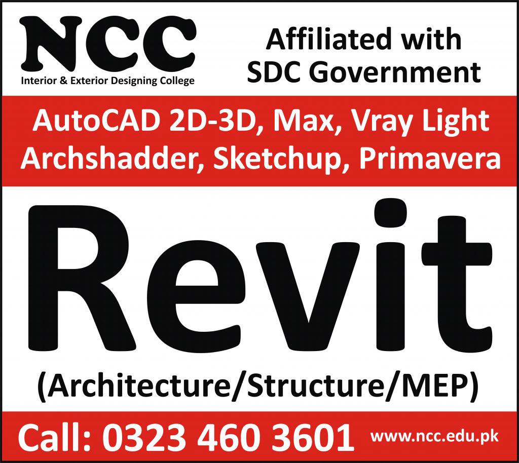 revit training courses in Lahore Pakistan